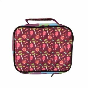 Kids Candy design Insulated lunch Box NWOT